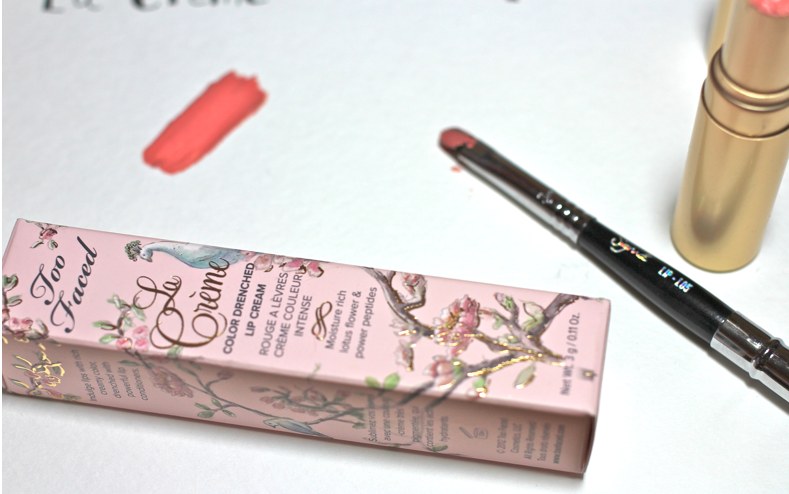 Too Faced La Creme Color Drenched Lip Cream in Country Star