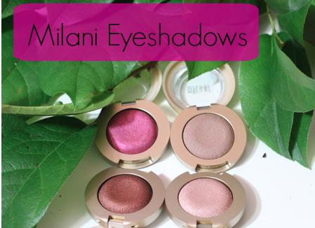 Milani Bella Eyes Gel Powder Eyeshadows