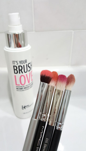 how to clean my cosmetic brushes