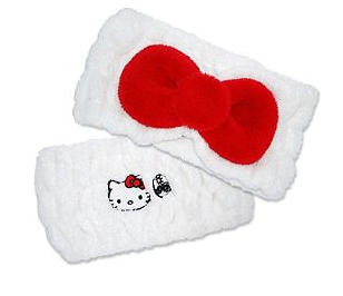 Earth Therapeutics Hello Kitty Cosmetic Headband