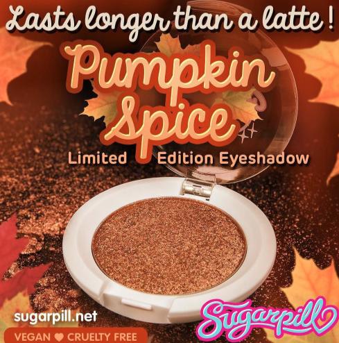 Sugarpill Cosmetics Pumpkin Spice