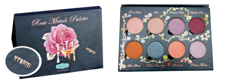 Rose Metals Palette by Velvet 59