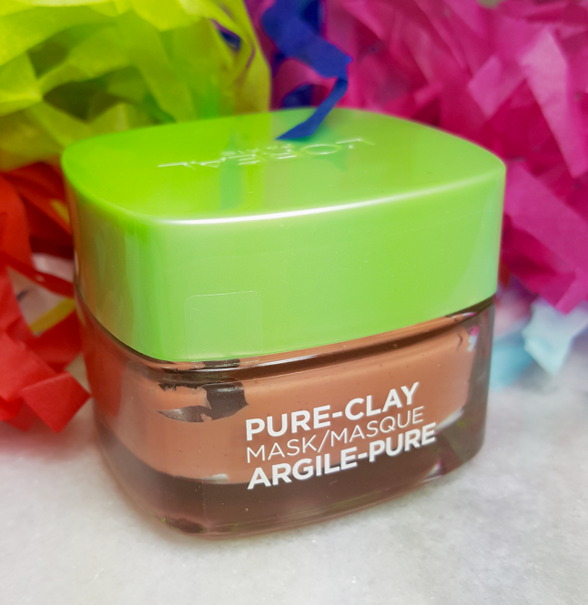 L'oreal PURE-Clay Mask is giving us options…