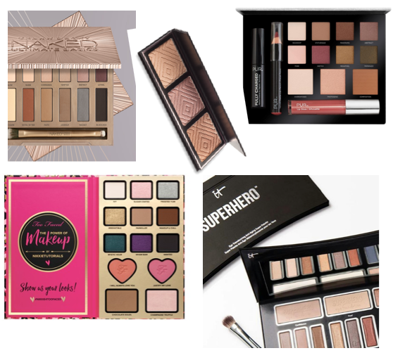 Top 5 New Eyeshadow Palettes