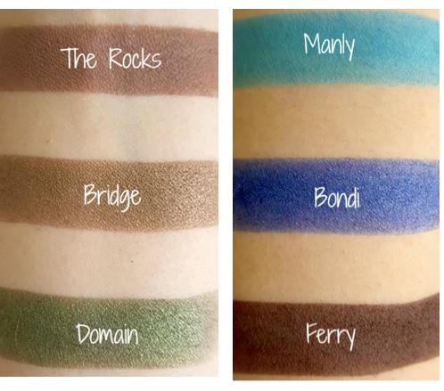 """Cargo Cosmetics """"Land Down Under"""" Eye Shadow Palette"""