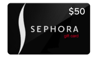 $50 Gift Card to Sephora