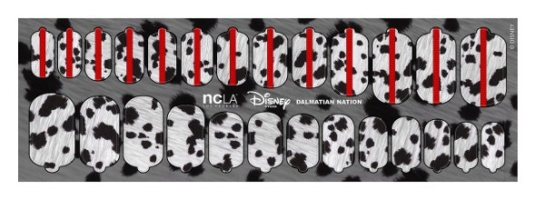nationu201d 101 dalmations nail wraps