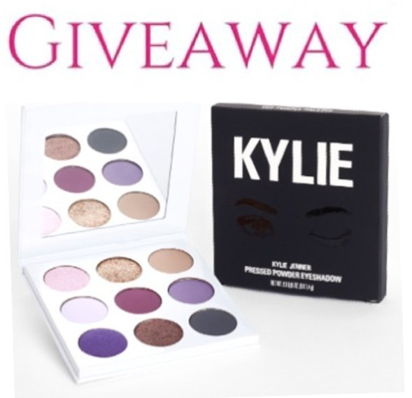 Kylie Cosmetics Purple Palette Giveaway