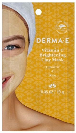 DermaE Vitamin C Brightening Clay Mask
